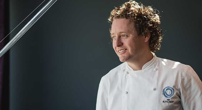 Michelin star chef Tom Kitchin at Coco Bodu Hithi