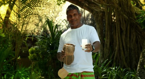 Meet the Toddy Tapper of Coco Palm Dhuni Kolhu