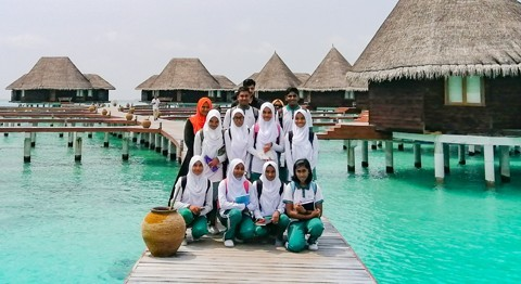 Little Eco-Warriors Visit Coco Palm Dhuni Kolhu